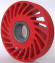 Honeycomb wheel with slide bearing by tecrolls;