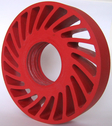Honeycomb wheel with plain bore by tecrolls;
