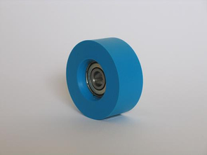 Rubber rolls type >G< with plane surface